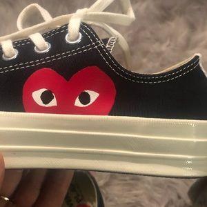 Comme des Garcons Shoes - Comme Des Garçons Converse low tops